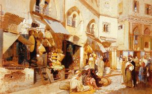 Louis Comfort Tiffany: Algerian shops