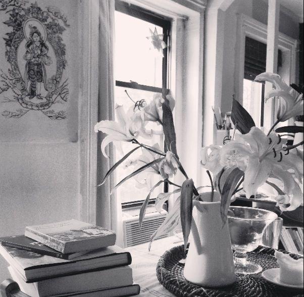 Palpitations en Noir et Blanc.Photo de Lydia Chebbine.