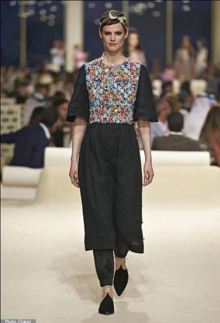 Le défilé Chanel Croisière 2014-2015 à Dubaï